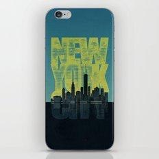 New York City iPhone & iPod Skin