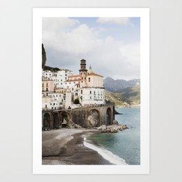 Atrani, Amalfi Coast Art Print