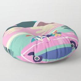 Roadtrip Floor Pillow