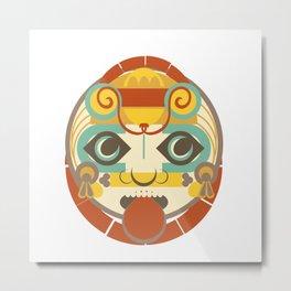 Mayan Sun God - Kinich Ahau Metal Print