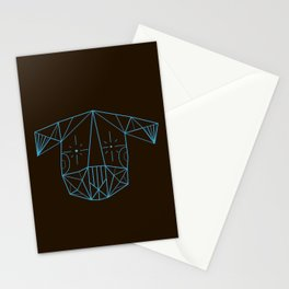 Space Tim  Stationery Cards