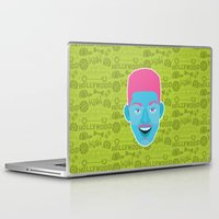 fresh prince Laptop & iPad Skins featuring Will - The fresh prince of Bel-Air by Kuki