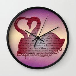 It's True Love Wall Clock