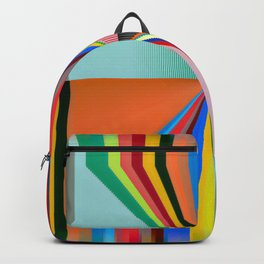 Waking In A Rainbow no.14 Backpack