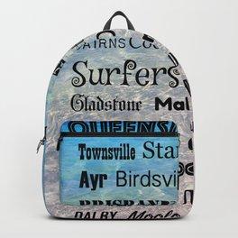 Queensland Poster Backpack