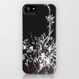 Lonely Bud Invert iPhone Case