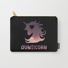 Aunticorn Carry-All Pouch