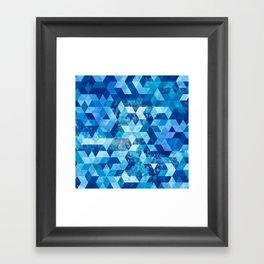 Cold Snowflake Framed Art Print