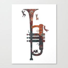 Jazzed Canvas Print