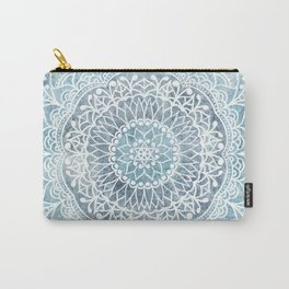 DEEP BLUE MANDALA Carry-All Pouch