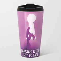 dancing is the key to life Travel Mug