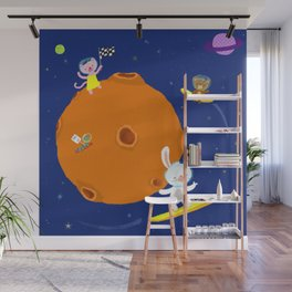Space Fun Wall Mural