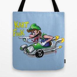 Kart Fink Lil Bro! Tote Bag