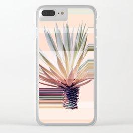 Agave Stripe Clear iPhone Case