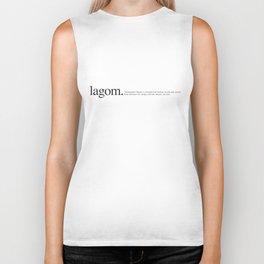 Lagom -Wiki Biker Tank