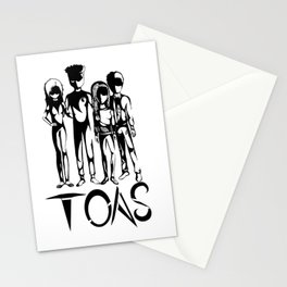 TOAS (White) Stationery Cards