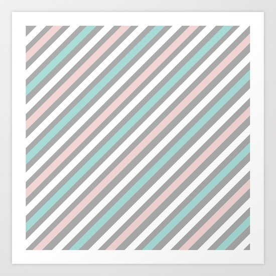INFINITE LINES (abstract pattern) Art Print