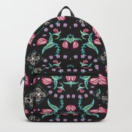 Flowers and Flytraps Backpack