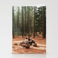 camp Stationery Cards featuring Camp by Casey Afton Hess