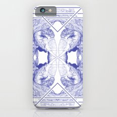 The Willow Pattern (Blue variation) iPhone 6s Slim Case