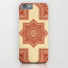 The Red Moroccan Pattern Slim Case iPhone 6s