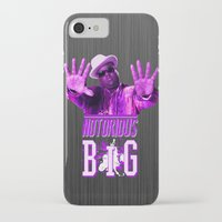 2pac iPhone & iPod Cases featuring Notorious Big by Gold Blood