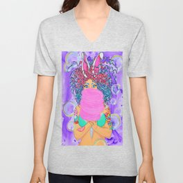 Sweet Tooth, Hair Series Unisex V-Neck