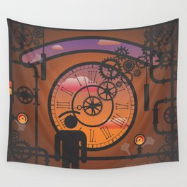 i see no time Wall Tapestry