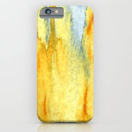 Earth toned abstract iPhone Case