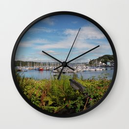 Tarbert Harbour Wall Clock