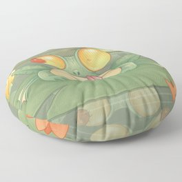 Swamp Snack Floor Pillow