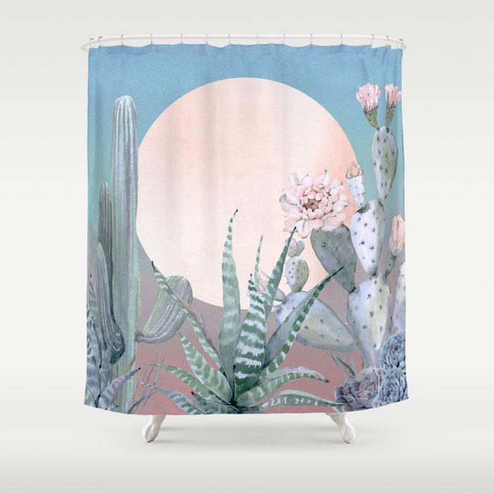 Desert Twilight by Nature Magick Shower Curtain