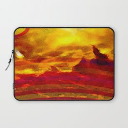 The Red Planet. Laptop Sleeve