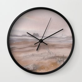Yorkshire Moors Bronte Country Wall Clock