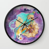 health Wall Clocks featuring Mental Health by Symbiosis