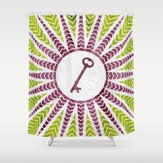 Phantom Keys Series - 11 Shower Curtain