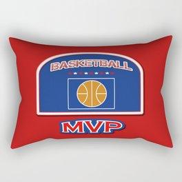 MVP Basketball board Rectangular Pillow