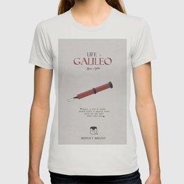 Life of Galileo Galilei, Bertolt Brecht, book cover, classic novel, play, poster, penguin, theatre T-shirt