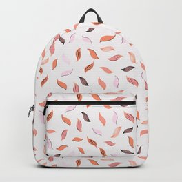 Falling Leaves Seamless Pattern Backpack