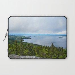 Cloudy Evening | Koli National Park Laptop Sleeve