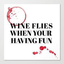 wine bar no. 2 Canvas Print