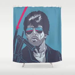 Cobra - Stallone Shower Curtain