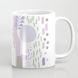 Close to Nature - Simple Doodle Pattern 1 #handdrawn #pattern #nature Coffee Mug
