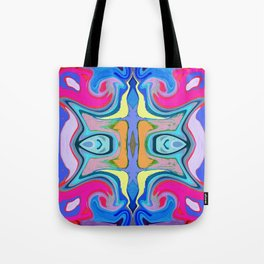96 - Colour abstract pattern Tote Bag