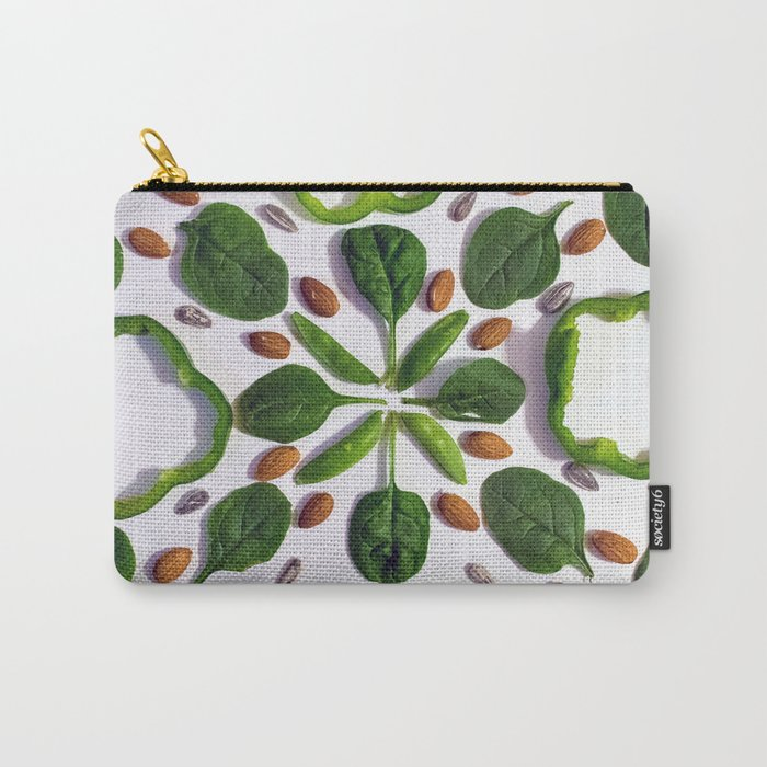 Green Salad Carry-All Pouch