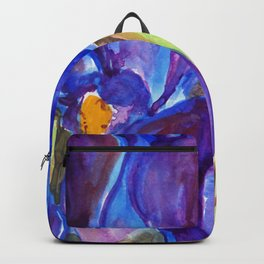 Dwarf Irises Backpack