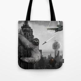 King Sloth Tote Bag