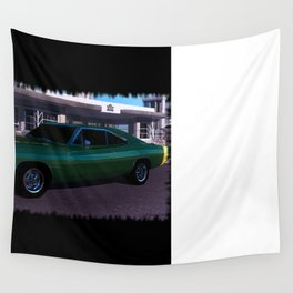 69 Charger Pinup Wall Tapestry