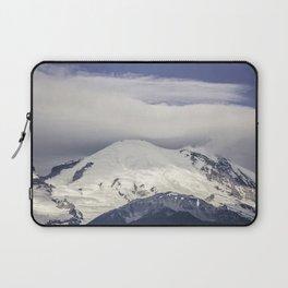 Mountain Top of Mt Rainier Laptop Sleeve