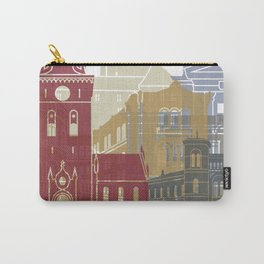 Oslo skyline poster Carry-All Pouch